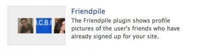 plugin facepile facebook