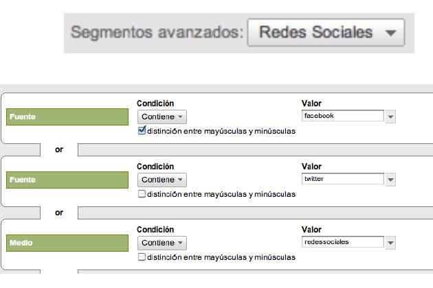 segmentos social media analytics