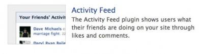 plugin feed facebook