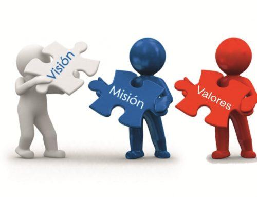 Visión, misión y valores de una organización